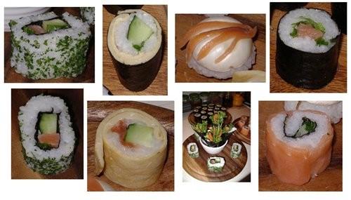 А вот такие суши (стандартные рецепты) я делаю дома после домашних муж плюется в ресторане теми, чт...