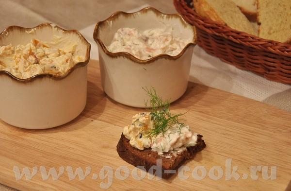 Твороженные пасты с зерновым хлебом от Olja