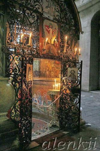 Коптская часовня сзади Святого Гроба Господня - 3