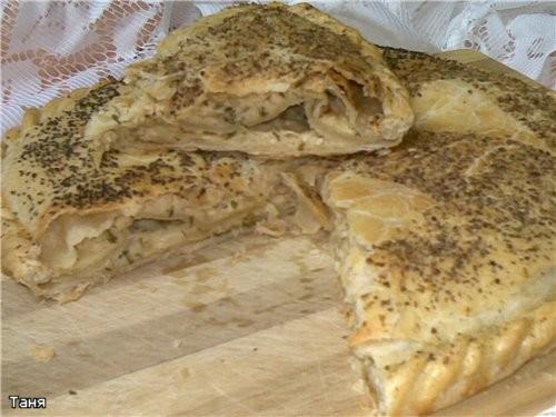 Хлебно-мясной батон с капустой Хлебный кругляш с баклажаном и сыром Дрожжевые булочки с овощной пас... - 6