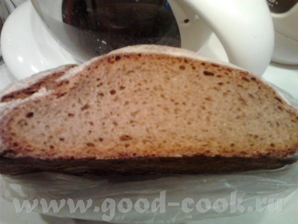 Девочки пришла опять с Житным, рецепт с сайта убрать) Рецепт на 1 хлеб весом примерно 650-700г Гус... - 3