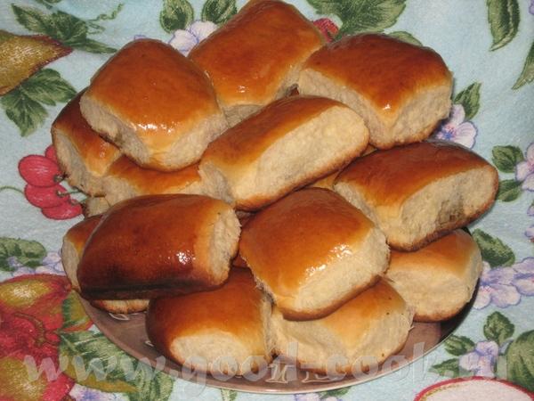 Рецепт воздушных пирожков в духовке на кефире