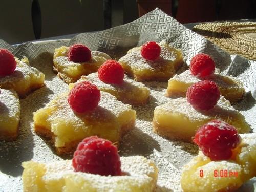 Большое спасибо за Лимонные пирожные