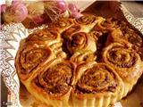 Несладкая выпечка Сырные кексики Пирог с баклажаном,грибами и печенью Рулетики из слоеного теста со...