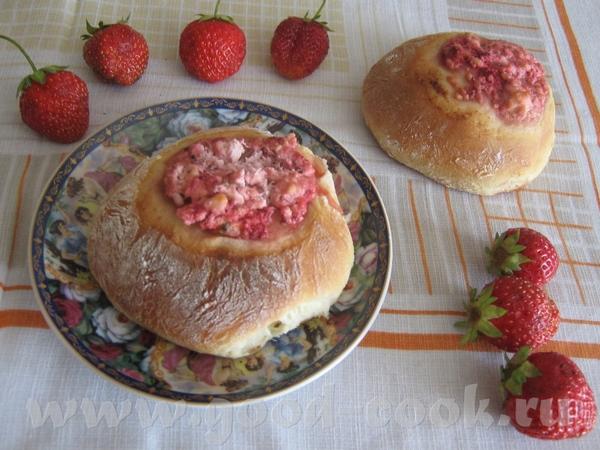 Наташа я тоже твои ватрушки пекла, тока с творогом и ягодками вкусно, спасибо тебе