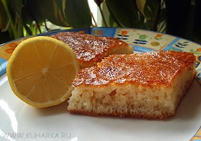 А я сегодня делала свинину с сыром и арахисом , а на сладкое турецкий десерт - Ревани - 2