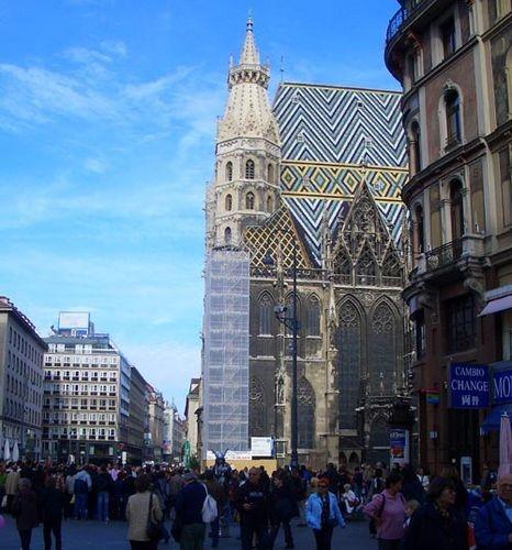 Хочу показать вам главную достопримечательность Вены- Собор Святого Стефана