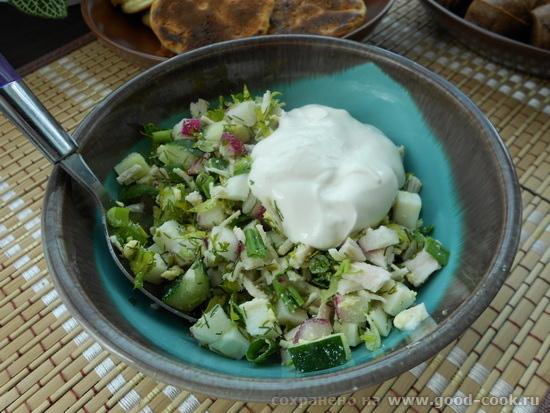 окрошечный салат