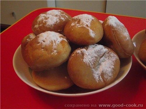 Леночка, спасибо за прекрасный рецепт пончиков (Берлинские пончики), я делала и с начинкой и без нее, очень вкусно