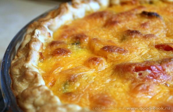 Tomato pie (Томатный пирог).