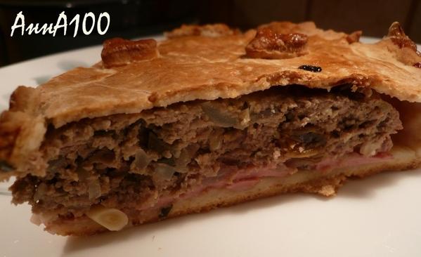 Тосканский мясной пирог