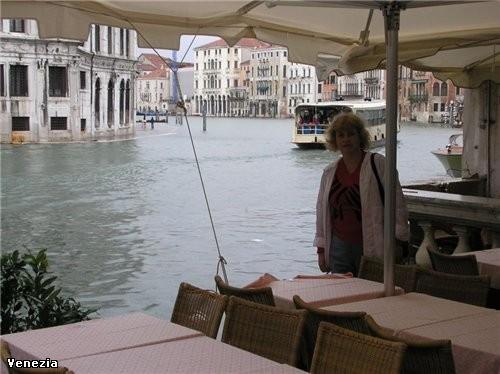В Венеции меня поразило море у входа