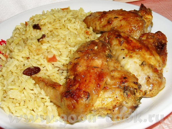 Запеченное бедро индюшки с картофелем Цыплята,фаршированные сердечками Крылышки-карри Иерусалимская... - 4