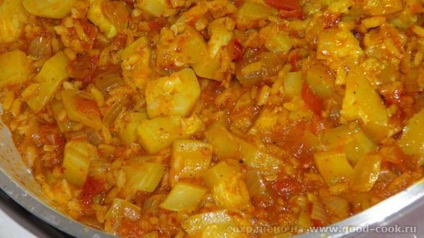 Pirinçli Kabak Yemeği / Кабачок с рисом