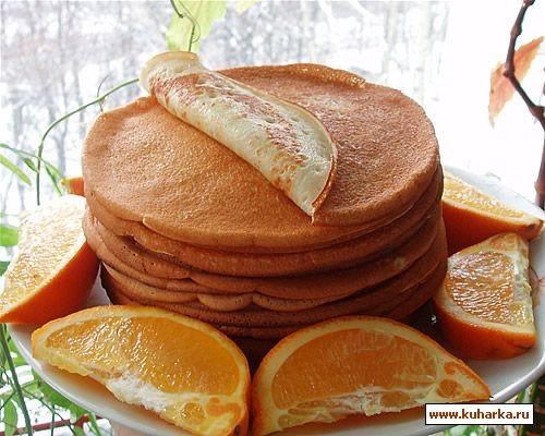 А у нас вчера на завтрак были блины на кефире