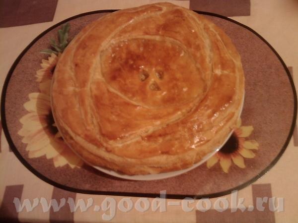 Спасибо Ирине Кутовой за рецепт рыбного пирога
