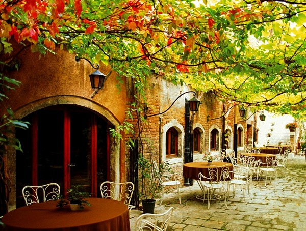 Ето Caffe Alfresco, Venice, Italy- Срединоземноморьe