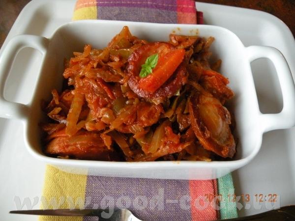 Просто Шницель из индейки с жареной картошкой ,капустой и с соусом Чили Лосось жареный с салатом ка... - 8