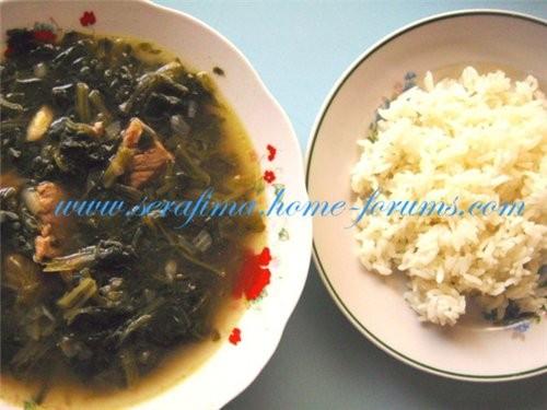 """Шорба """"СабАних"""" Суп со шпинатом Арабская кухня - 250-500 гр телятины (смотрите сами"""