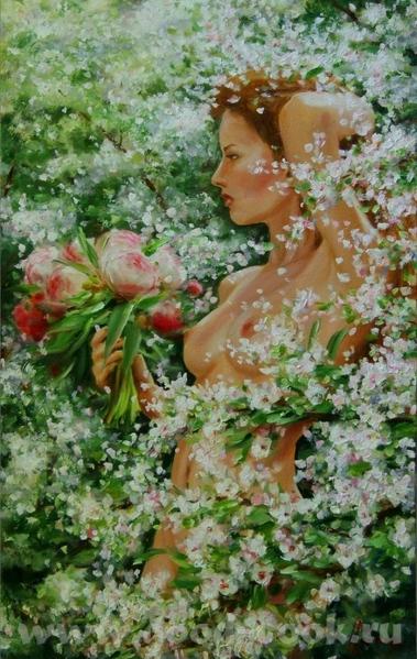 Ой как красиво, не могу налюбоваться- это самая настоящая сказка, мне очень нравится ваша картина О... - 2