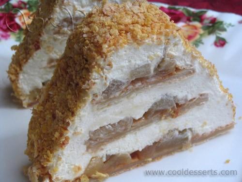 """Следующий десерт получил своё название от яблочного бренди """"Кальвадос"""", используемого в начинке - 2"""