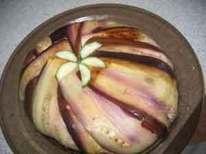 """Террин из баклажанов и перцев очень вкусно рецепт из журнала """"Школа гастронома"""" №2 - 2"""