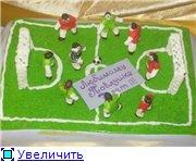 торт ноутбук торт розовый слон торт футбольное поле - 8