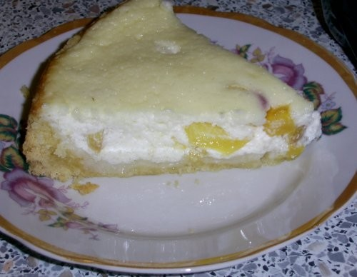 Сметанный пирог с персиками от Liizi с Jazzed Сook Это фантастика - 2