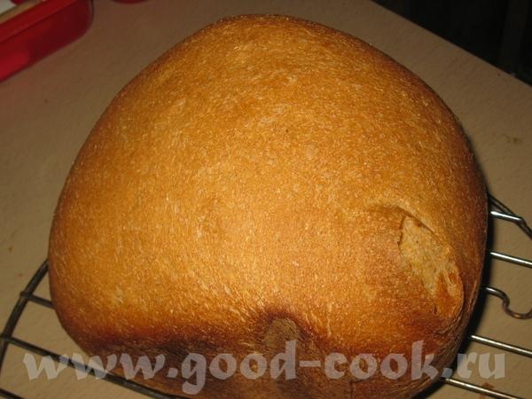 Мой первый хлеб из цельнозерновой муки, купленной у Насти-Львицы - 2