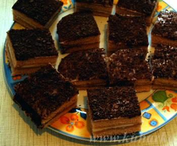 А я попробовала сделать торт из кисельного брикета Рецепт с кукинга