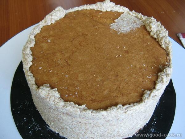 ровняем торт