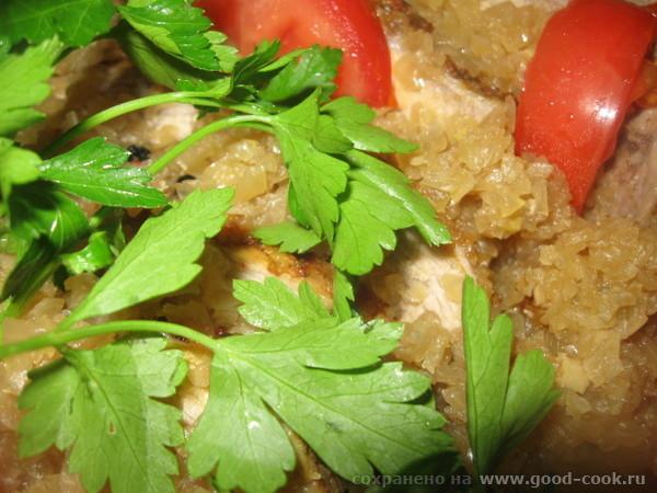 СВИНИНА, ЗАПЕЧЕННАЯ В ЛУКОВОЙ ПОДЛИВЕ (Ультраплюс) Очень вкусное и сочное мясо в луковой подливе