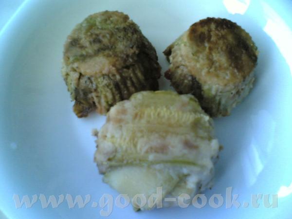 Вот так выглядят мои кабачки, запеченые с брынзой, сладким перцем и зеленью