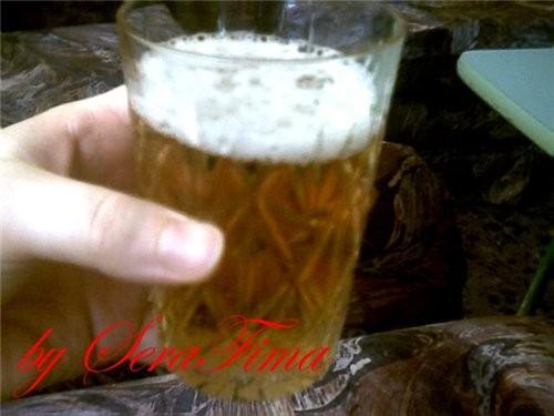 а ещё стакаи беэалкогольиого пива