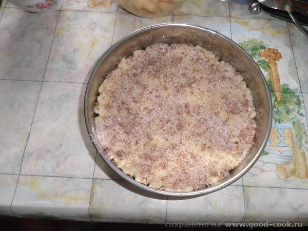 яблочный десерт под хрустящей корочкой 2