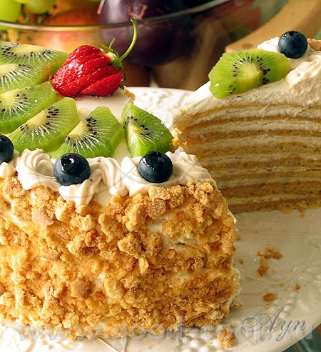 """Здесь я помещу фото торта """"Винни Пух"""" от Очень вкусний торт, мягкий, в меру сладкий"""