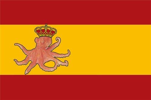 осьмножка наш национальным героем Испании будет