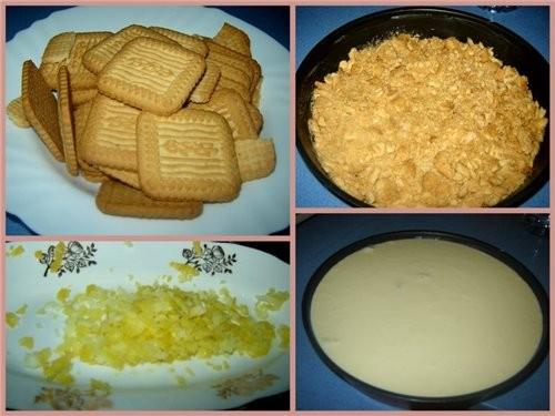 Tarta de queso fresco сыр (типа Бургос или филадельфия) -450гр (у меня 6 упаковочек Burgos х 75г) й... - 3