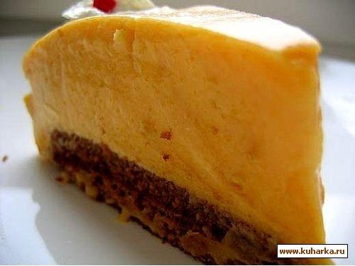 тыквенный торт оригинальный рецепт,а свои комментарии ниже для теста 150гр муки,100 гр сливочного м... - 3