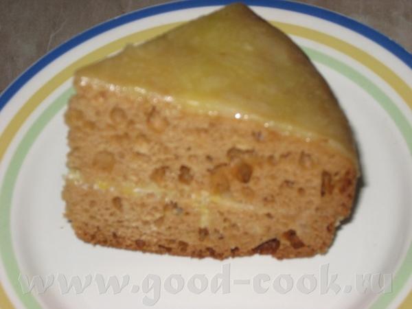 ТОРТИК С ЛИМОННЫМ КРЕМОМ-ГЛАЗУРЬЮ от Кроши Цитирую: Торт очень сочный , не жирный, тает во рту