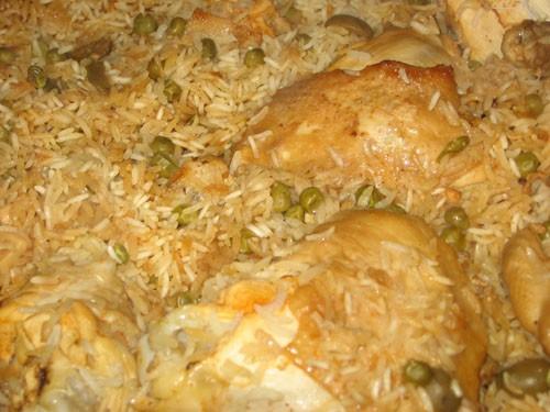 Ароз кон поло - Запеченный рис с курицей по-мексикански - 2