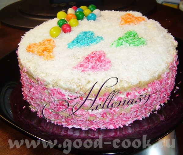 Торт Валентинка - 2