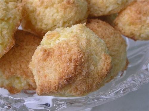 А это мои кокосовые макроны- вкусные