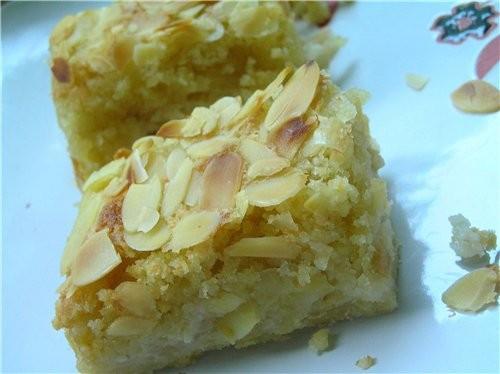 Быстрый штрудель из лаваша с яблоками и грушами Банановая запеканка Миндально-яблочные пирожные Штр... - 4
