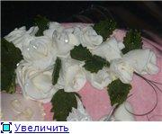 торт на крестины с ангелочком торт Маккуин - 4