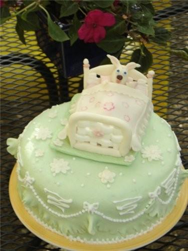 А этот торт я делала нам без всякого повода,ну ещё до от'езда