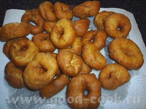 Пончики (рецепт с юзера Гуленька) 2 ч