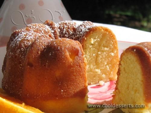 """Апельсиновые кексы"" (Orange Kugelhopf Cakes) Кексы: 175 г сл - 2"