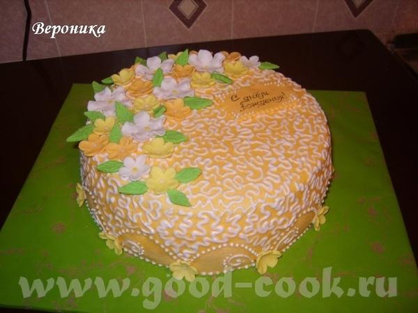 , ну мне тоже не хватало чего то в серединке того торта, но если честно боялась испортить: или пере...