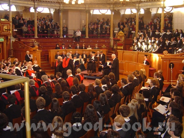 церемония по случаю окончания Оксфордского университета